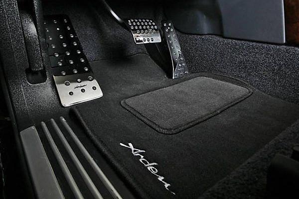 Arden Einlegeteppiche mit Arden Logo für Jaguar X-Type