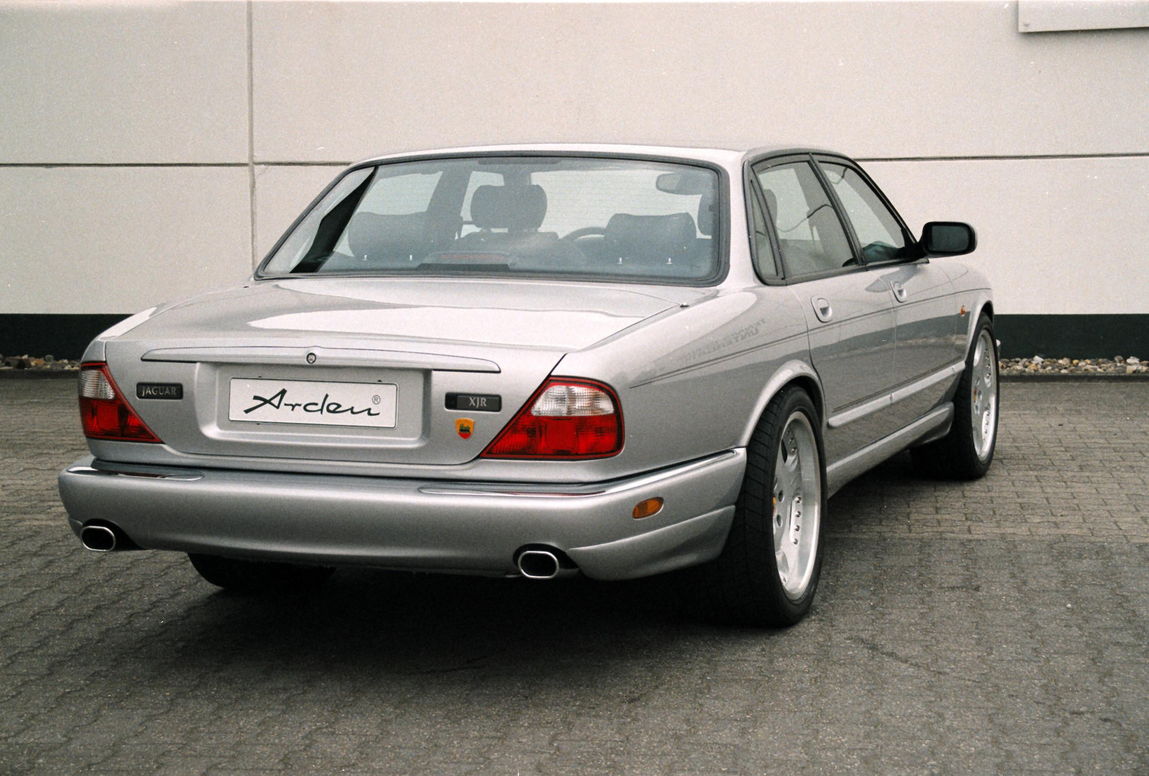 Arden Aerodynamik Heckschürzensatz für Jaguar XJ, XJR, XJ 300 3.2l, 4.0l u. 6.0l