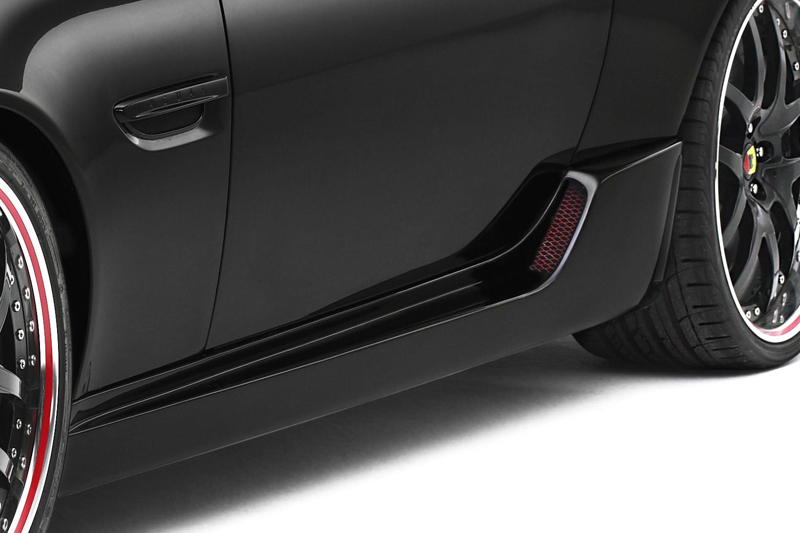Arden Seitenschweller (Carbon) für Jaguar XKR 2006-2009 und XKR-S ab 2012