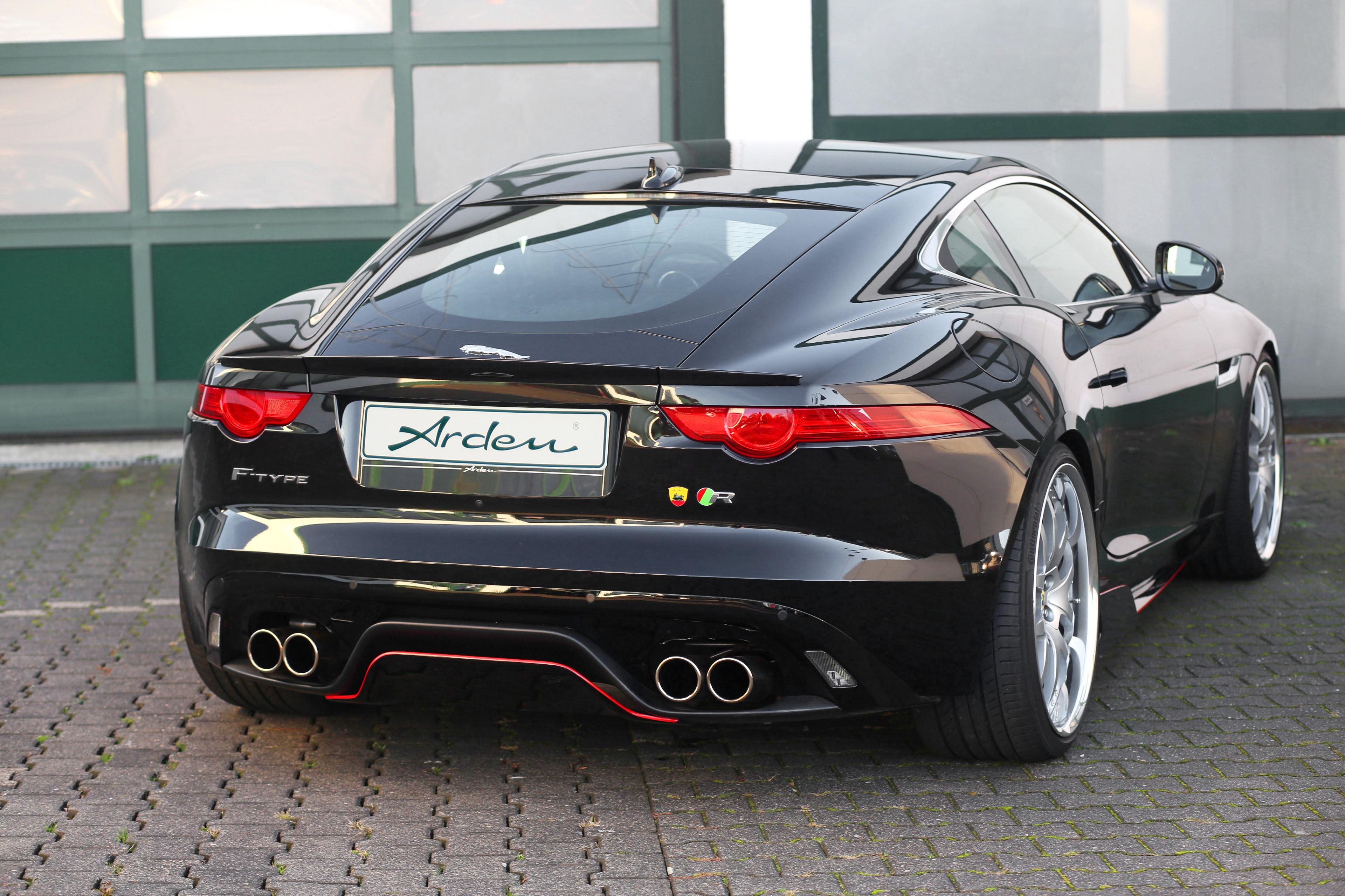 Arden Heckspoiler für Jaguar F-Type Coupe
