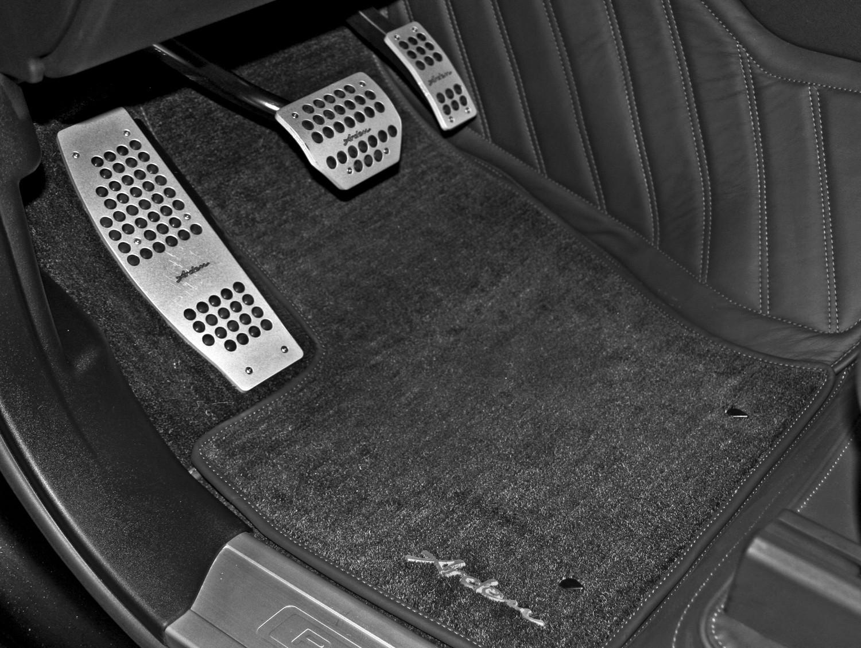 Arden Einlegeteppiche mit Arden Schriftzug für Jaguar XK8/XKR 1996-2005