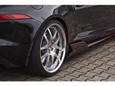 Arden seitliche Kiemen (Carbon) für Jaguar F-Type