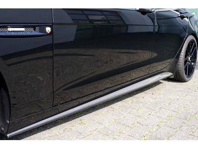 Jaguar XE Seitenschweller Carbon