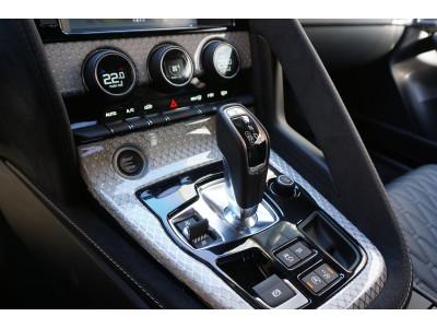 Arden Mittelkonsole in Carbon für Jaguar F-Type