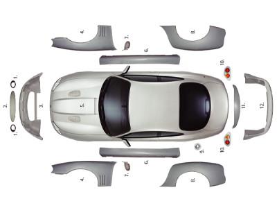AAK 80005 - Arden Jaguar XK8 A-Type Karosserie Umbausatz (Ãœbersicht 2).jpg