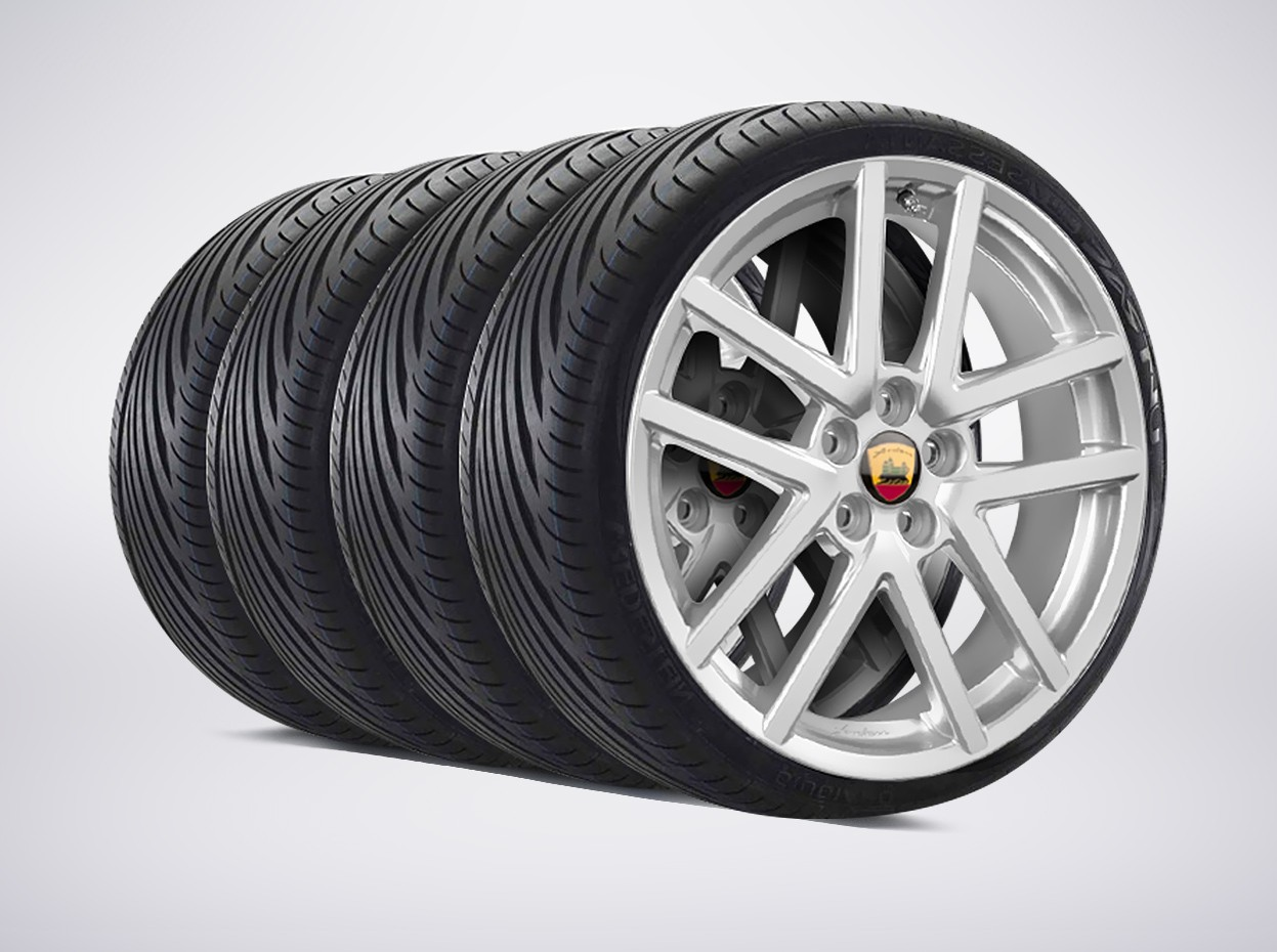 """Arden Sportline complete wheelset with premium winter tires for X-Type 8x18"""""""