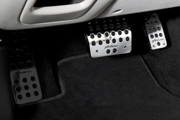 Arden aluminum pedal set for X-Type 2,0 / 2.5 l and 3.0 l