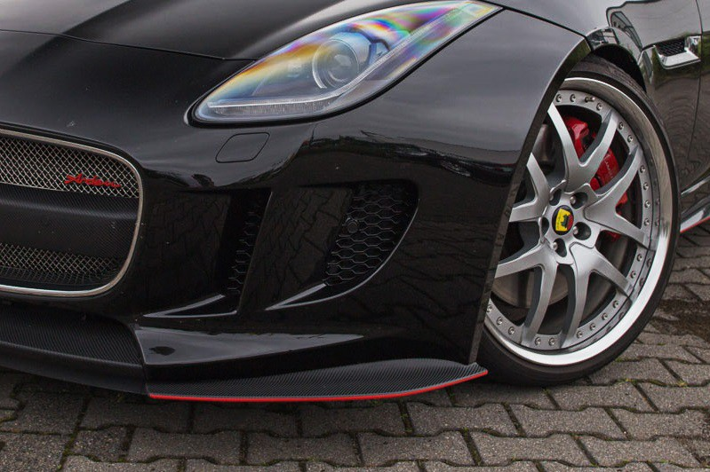 Arden Front Flaps (Carbon Fiber) For standard front of the F-Type until 05/2017