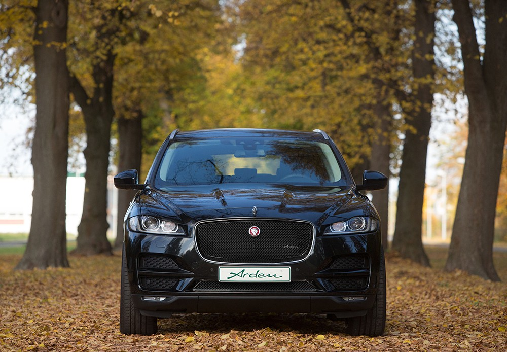 Arden Radiator Grille SET for F-Pace Pure, Prestige and Portfolio