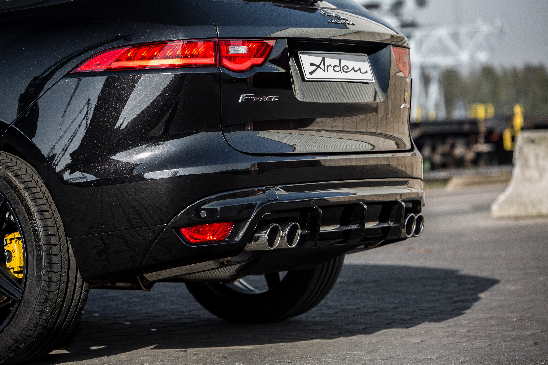 Arden Sport Rear Muffler for Jaguar F-Pace