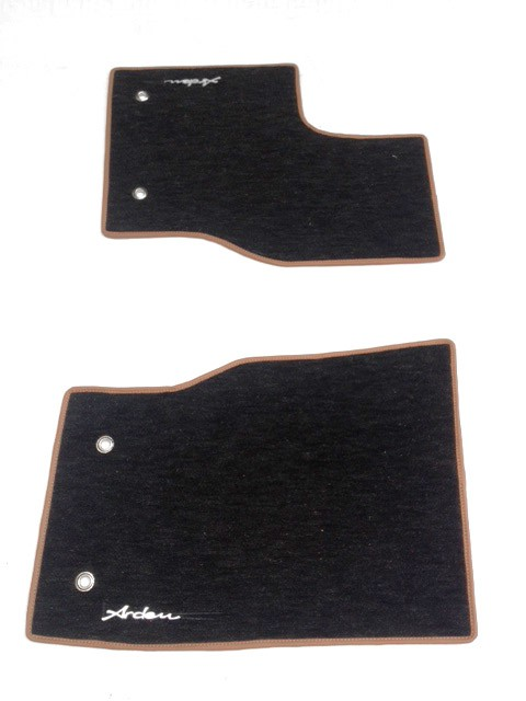 Arden carpets with leather pipping for Range Rover (Sport)