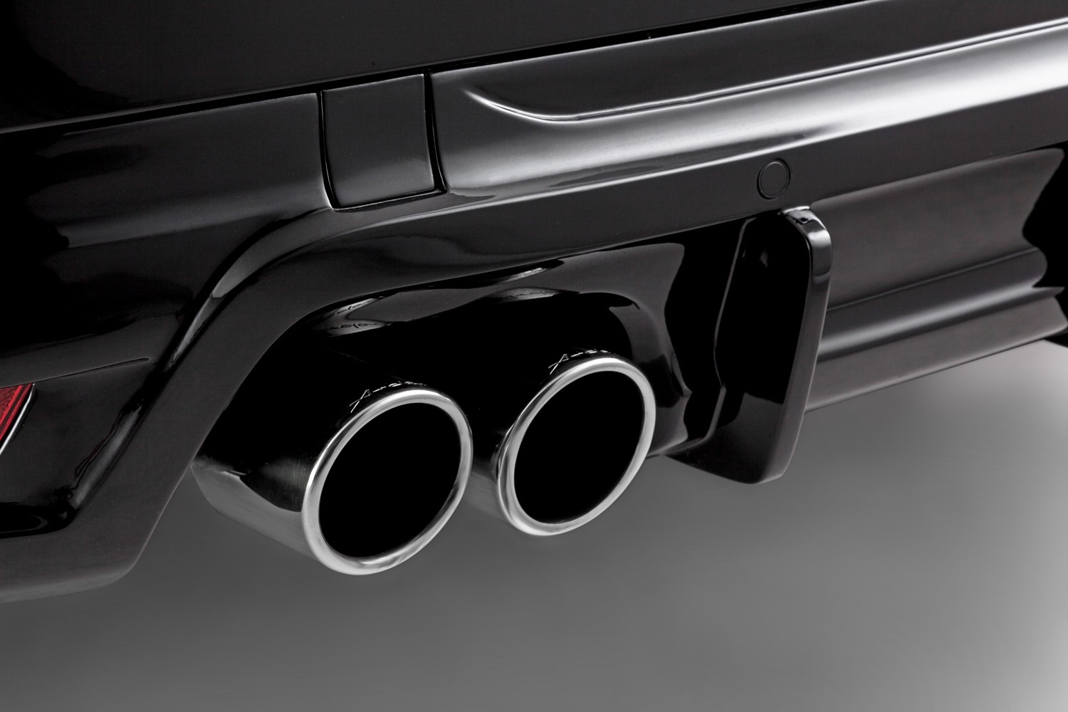 Arden Twin Tailpipe, Set for Jaguar F-Pace