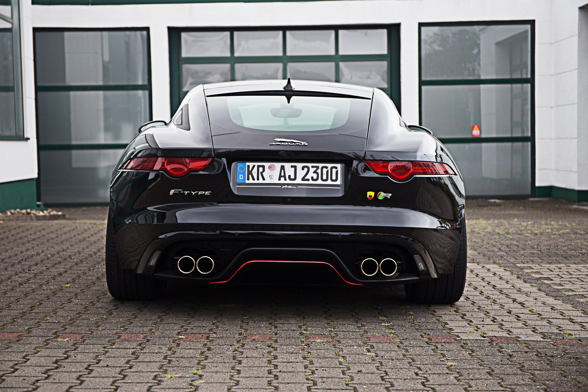 Arden Transformation for F-Type V6 exhaust to
