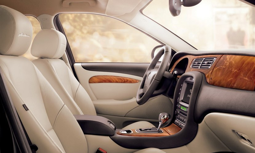 Arden leather interior trim and upholstery (Product example)
