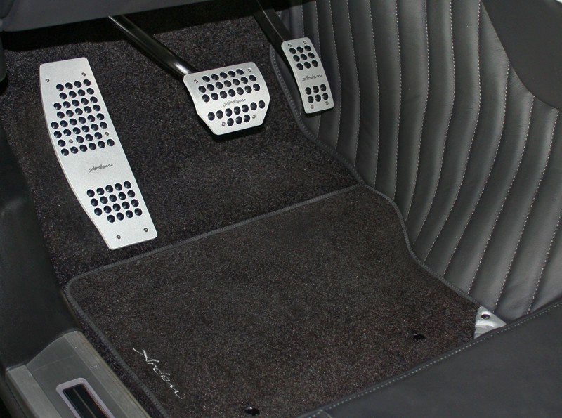 Arden floor carpets with Arden logo for Jaguar S-Type and S-Type R