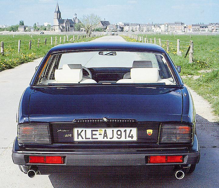 Arden Sport Rear Mufflers XJ40 3.2 l and 4.0 l