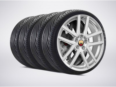 Arden Sportline complete wheelset with premium winter tires for X-Type 8x18""