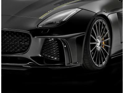 Arden Front Add-On for Jaguar F-Type SVR; for the original front bumper, set.