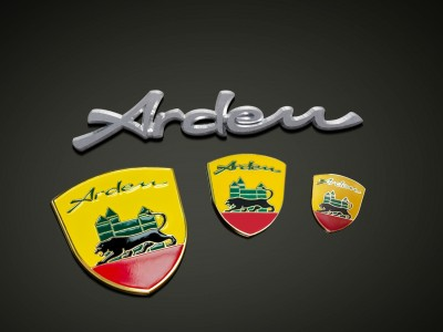 Set Arden crest and Arden lettering (self-adhesive)