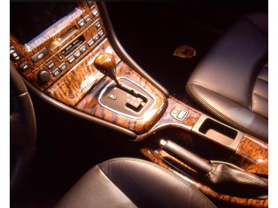 Arden wood surroundings for center console
