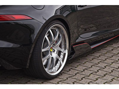 Arden Side Flaps (Carbon Fiber) for Jaguar F-Type