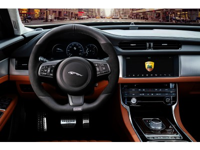 Arden sports steering wheel for Jaguar XF
