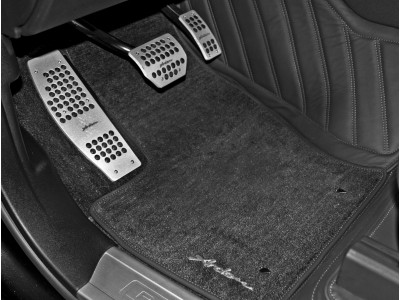 Arden floor carpets with Arden lettering for Jaguar XK8/XKR 1996-2005