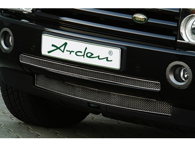 Arden stainless steel front grille until My 2005, black