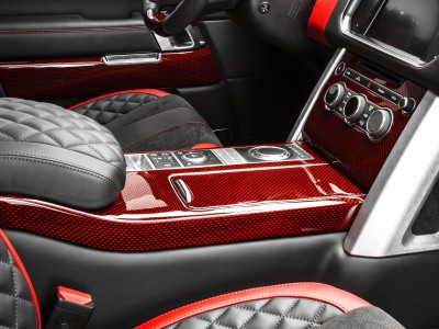 Arden interior components in carbon, brushed aluminum or precious wood