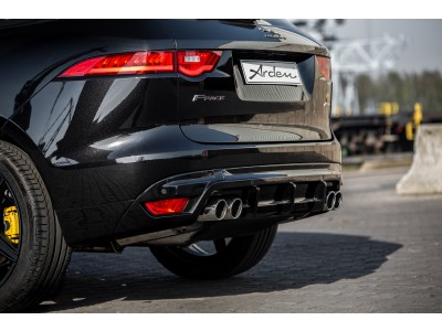 Arden Sport Rear Muffler for Jaguar F-Pace