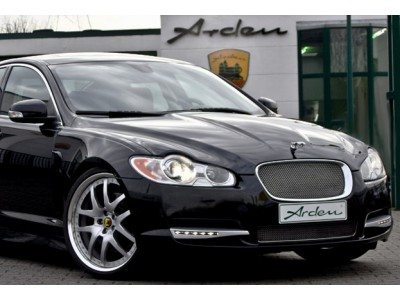 Arden stainless steel radiator grille for Jaguar XF 2010 to 2012