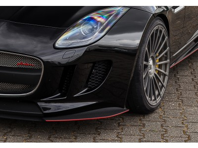 Arden Front Flaps for standard front of the Jaguar F-Type until MY 2017