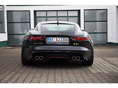 "Arden Transformation for F-Type V6 exhaust to ""R"" Look"