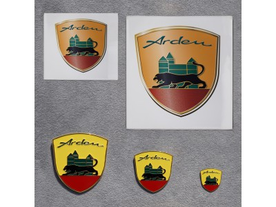 Set Arden crest and Stickers