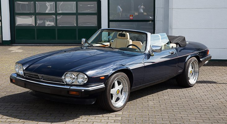 Arden-Jaguar-XJS-convertible-double-head-light-front-spoiler