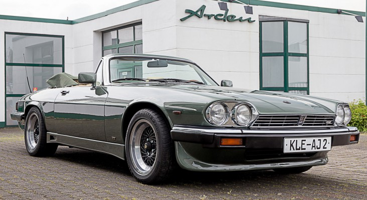 Arden-Jaguar-XJS-convertible-double-head-light-front-spoiler-wheels