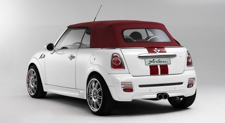 mini cooper cabrio tuning exklusive veredelung arden. Black Bedroom Furniture Sets. Home Design Ideas