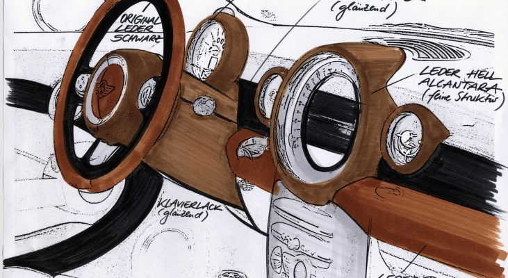 Arden-MINI-middle-console-speedometer-concept-cars