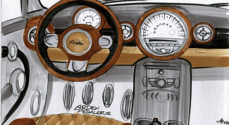 Arden-MINI-steering-wheel-speedometer-concept-cars