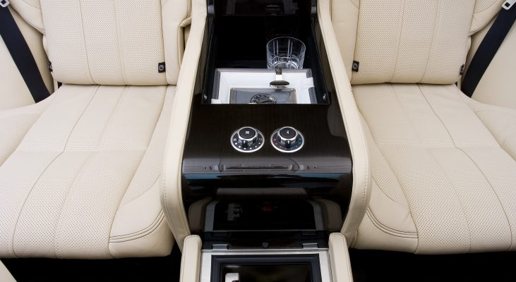 Arden-Range-Rover-LM-interior-back-seat-leather-trim-middle-console-minibar