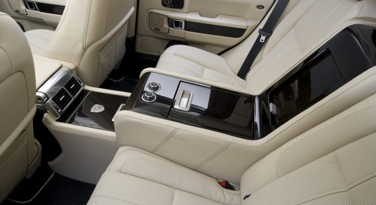 Arden-Range-Rover-LM-interior-back-seat-leather-trim-middle-console-minibar-closed
