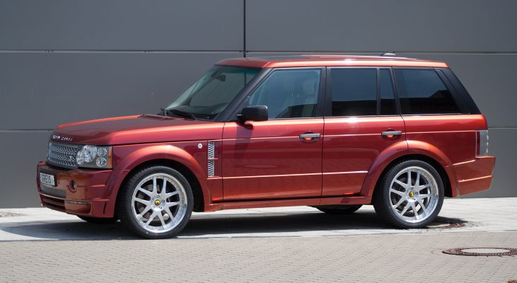 Arden-Range-Rover-LM-red-daylight-front-apron-side-sills