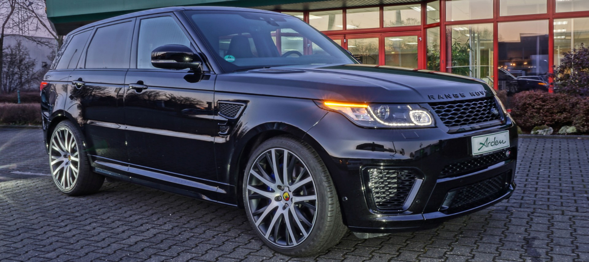 range rover sport tuning exclusive refinement arden. Black Bedroom Furniture Sets. Home Design Ideas