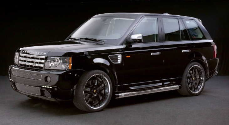 Arden-Range-Rover-black-wheels-daylight-front-apron-wide-body-kit-wheels