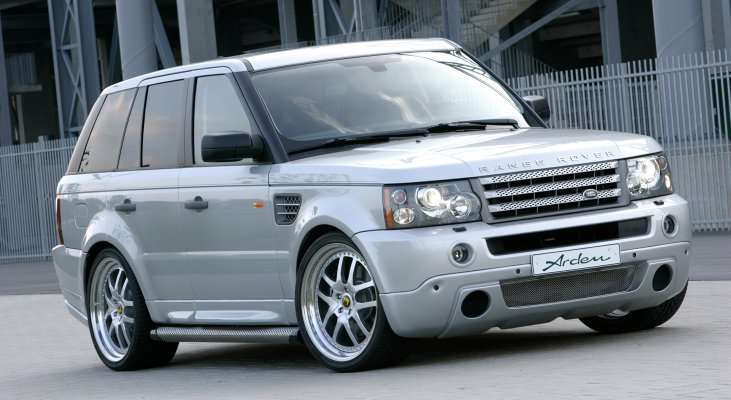 Arden-Range-Rover-silver-front-apron-wheels-wide-body-kit