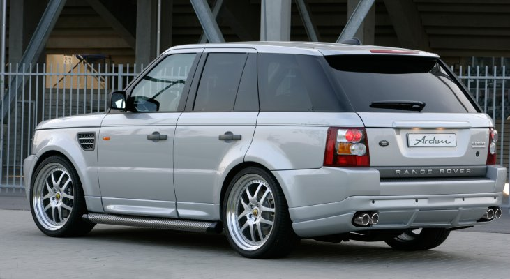 Arden-Range-Rover-silver-rear-apron-wheels-wide-body-kit
