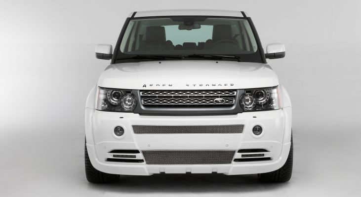 Arden-Range-Rover-white-front-apron-front-grille-wide-body-kit