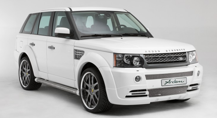 Arden-Range-Rover-white-front-apron-front-grille-wide-body-kit-daylight