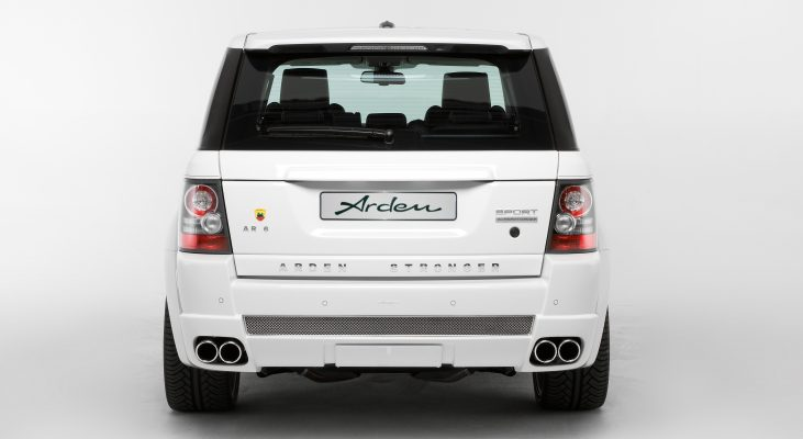 Arden-Range-Rover-white-rear-apron-exhaust-system-wide-body-kit
