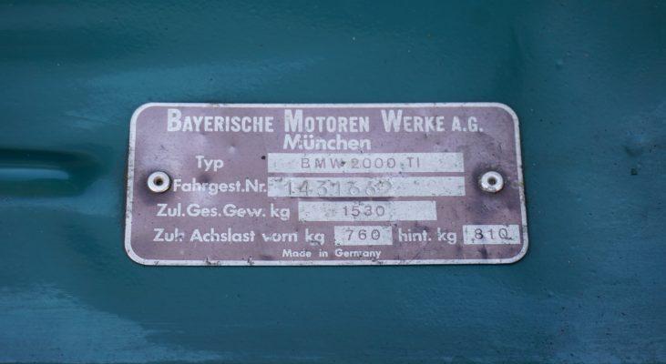 BMW 2000ti Arden Classic